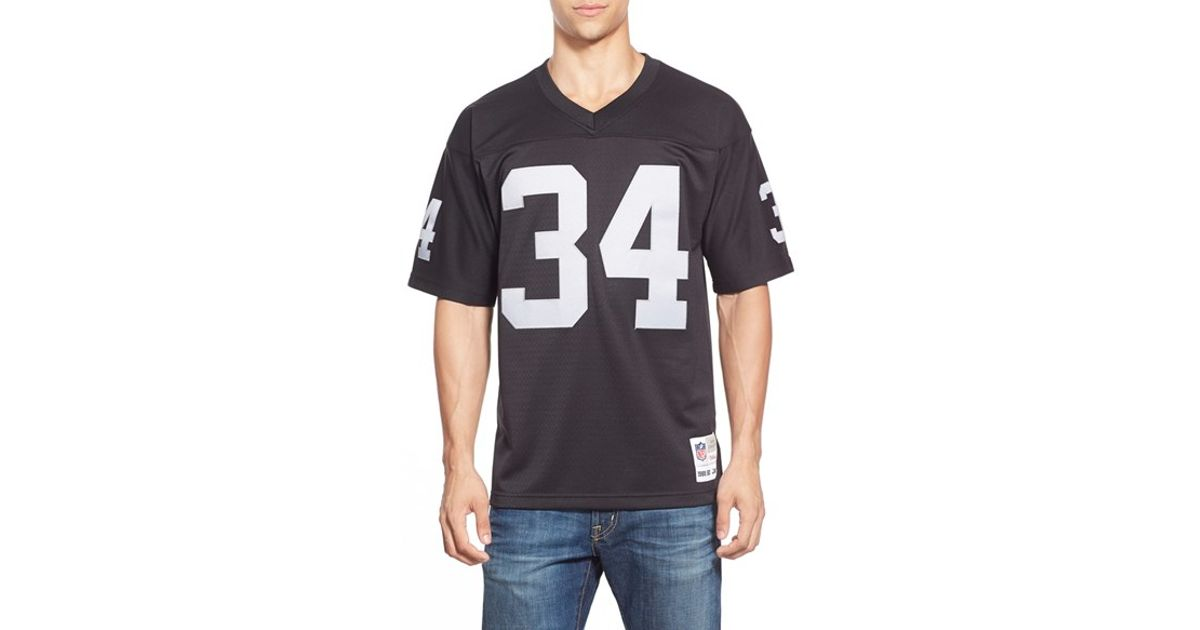 a37cee3b4 Mitchell & Ness 'bo Jackson' Replica Jersey in Black for Men - Lyst
