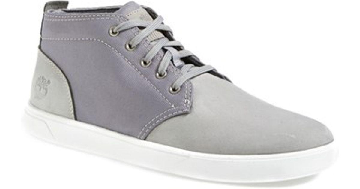 8ec7b0843bf Timberland Gray Earthkeepers 'groveton' Chukka Sneaker for men