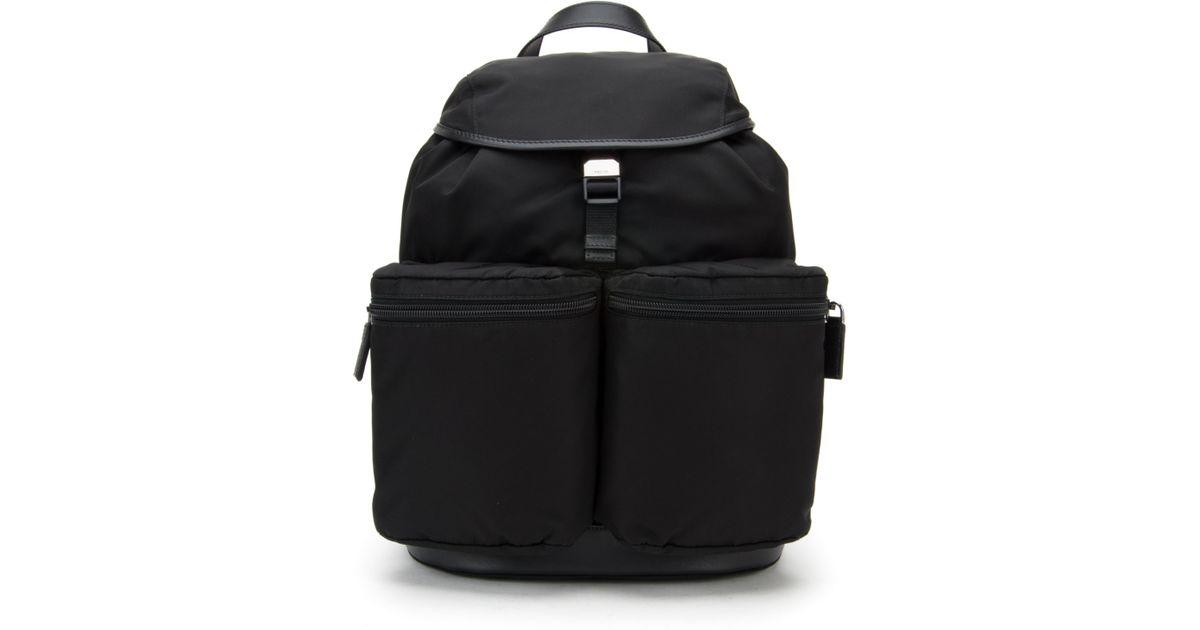 Prada Borsa Viaggio Tessuto Montagna in Black for Men (NERO) | Lyst