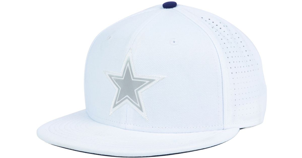 48c7fd87c Nike White Dallas Cowboys True Vapor Fitted Cap for men