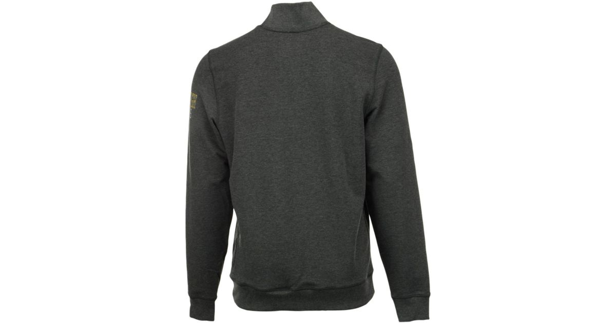 711eb51a1 Lyst - 47 Brand Men s Pittsburgh Steelers Forward Peak Quarter-zip Pullover  in Gray for Men