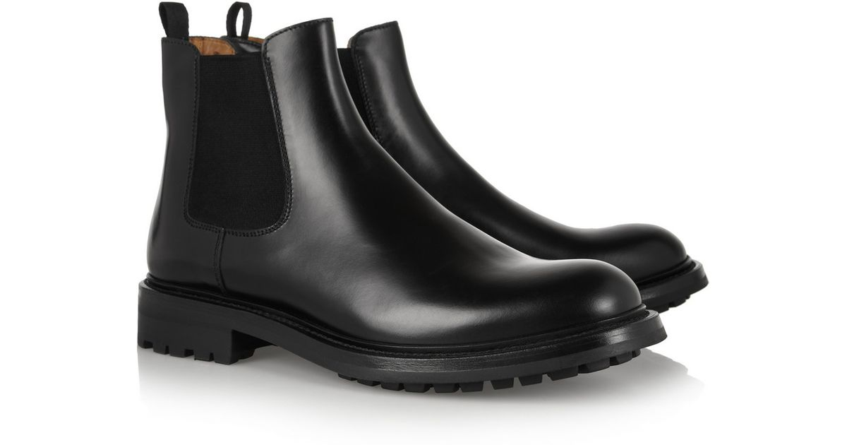 Lyst Church S Genie Leather Chelsea Boots In Black