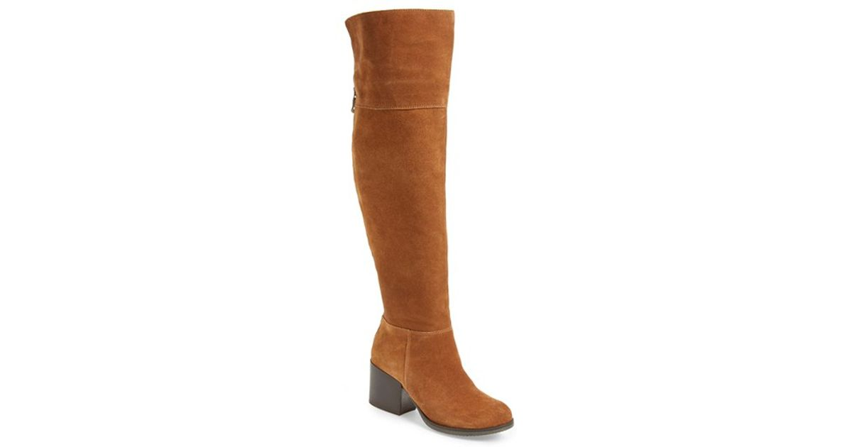 bc6d8fa2905 Lyst - Steve Madden Orabela Knee-High Boots in Brown