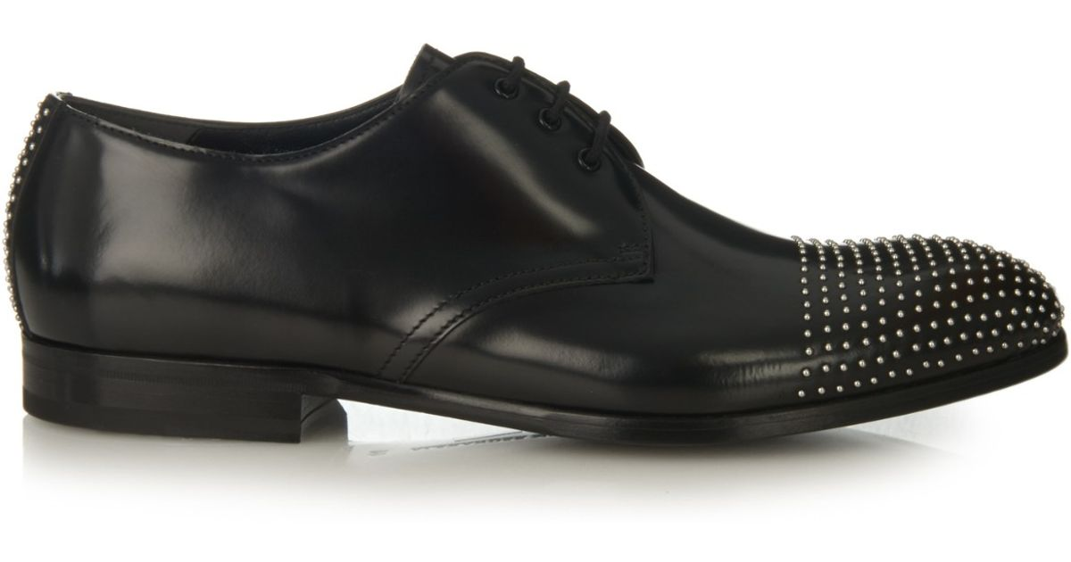 studded lace up shoes Alexander McQueen s8ZMemnIwt