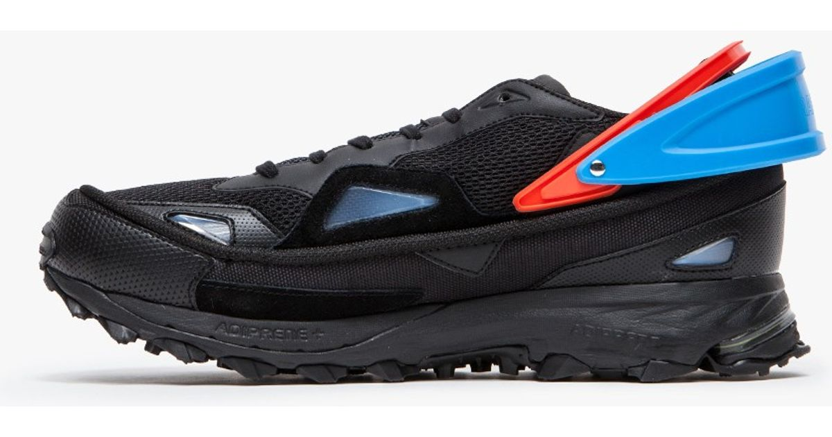 c71c5ee55d20 Lyst - adidas By Raf Simons Raf Simons Response Trail 2 in Black for Men