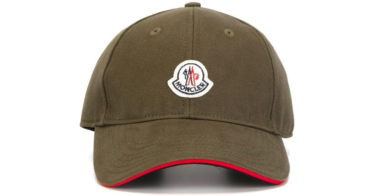 d84456a827d Lyst - Moncler Classic Baseball Cap in Natural for Men