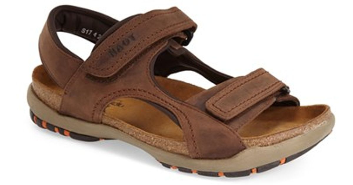 Naot Electric Sandal In Brown For Men Lyst