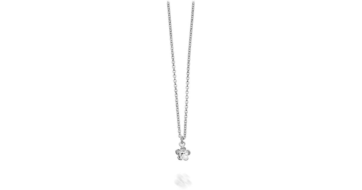 Lyst alex monroe silver forget me not pendant in metallic aloadofball Image collections