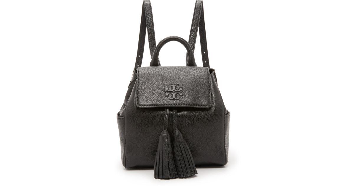 4cde172507c Tory Burch Black Thea Mini Backpack