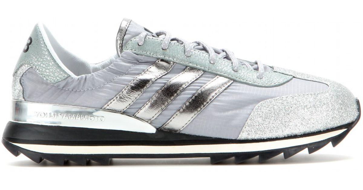 cc78b0b768a1 Lyst - Y-3 Rhita Sneakers in Gray