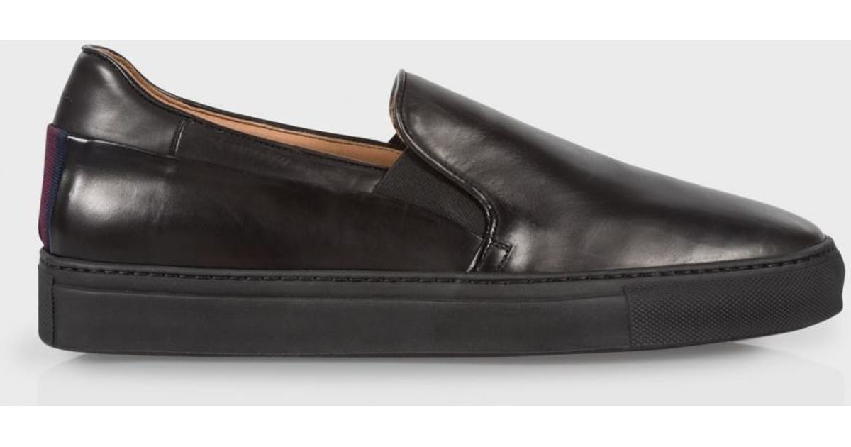 Calf Leather 'zorn' Slip-on Trainers