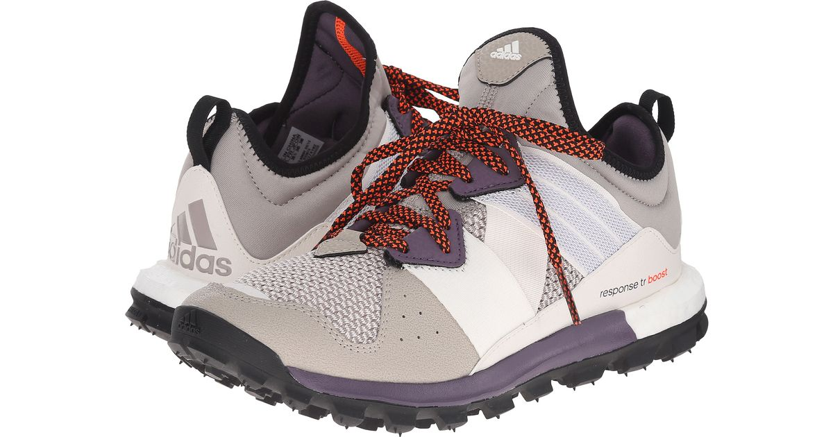 806df08f460 ... discount lyst adidas response trail boost in brown 7e173 13d5e