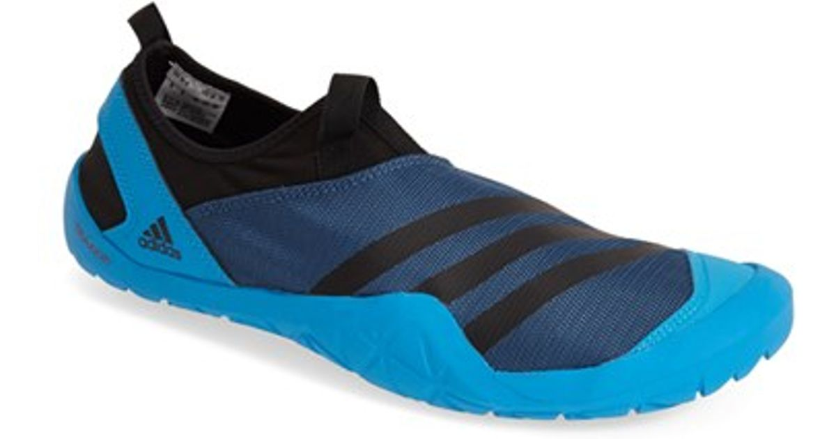 huge selection of 584a6 72067 Adidas Blue 'jawpaw' Mesh Water Shoe for men
