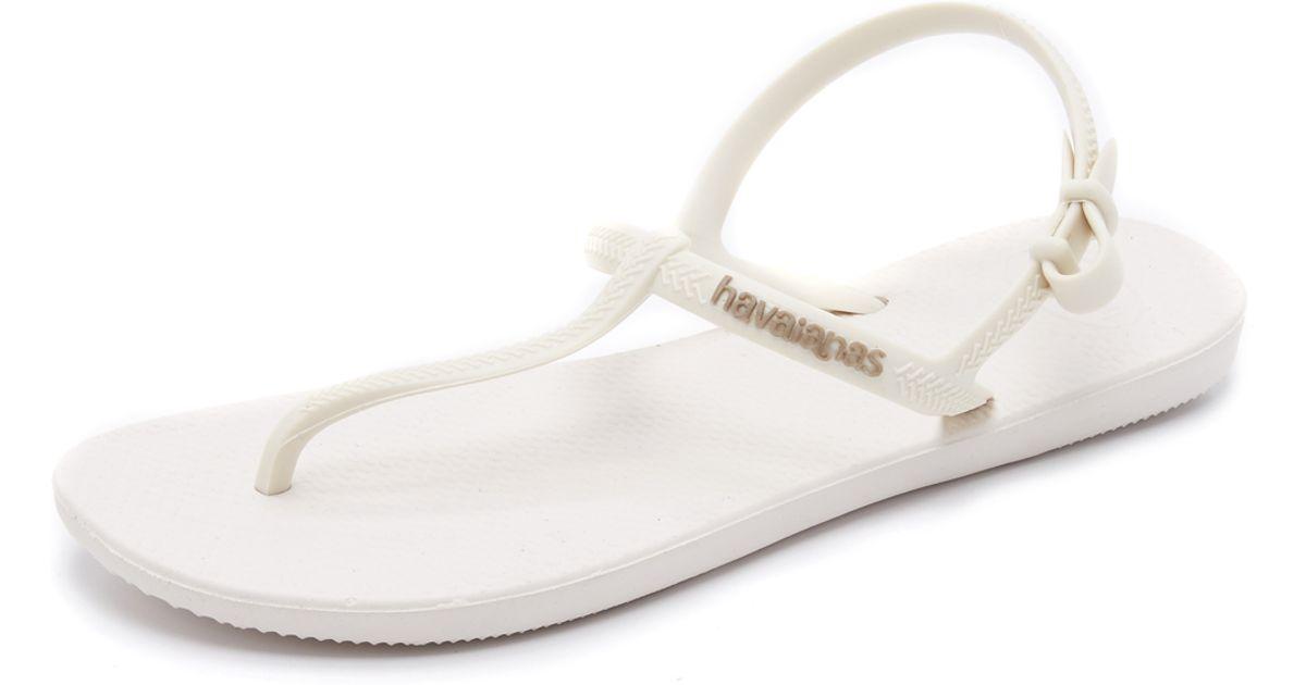 White Freedom Sandals White Havaianas Havaianas Sandals Sandals Havaianas White Freedom Freedom OPXZTwiku