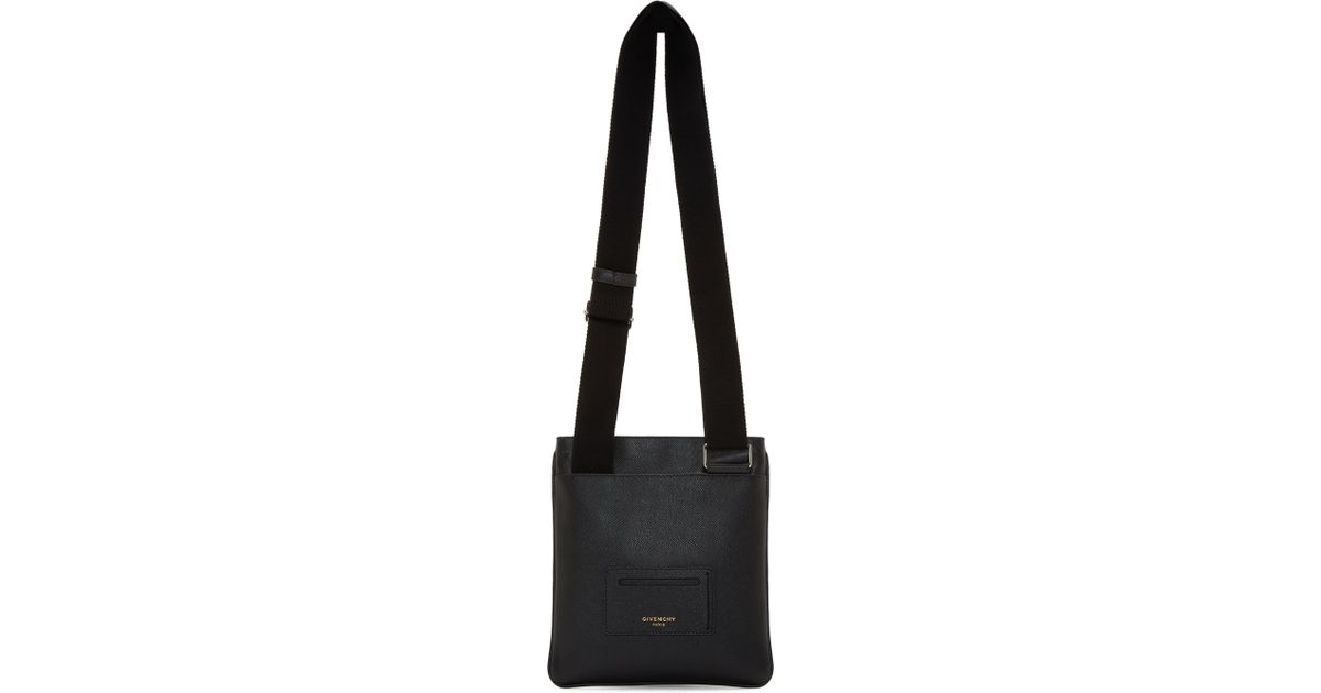 Lyst - Givenchy Black Small Codification Crossbody Bag in Black for Men 73a3c1b7dfb