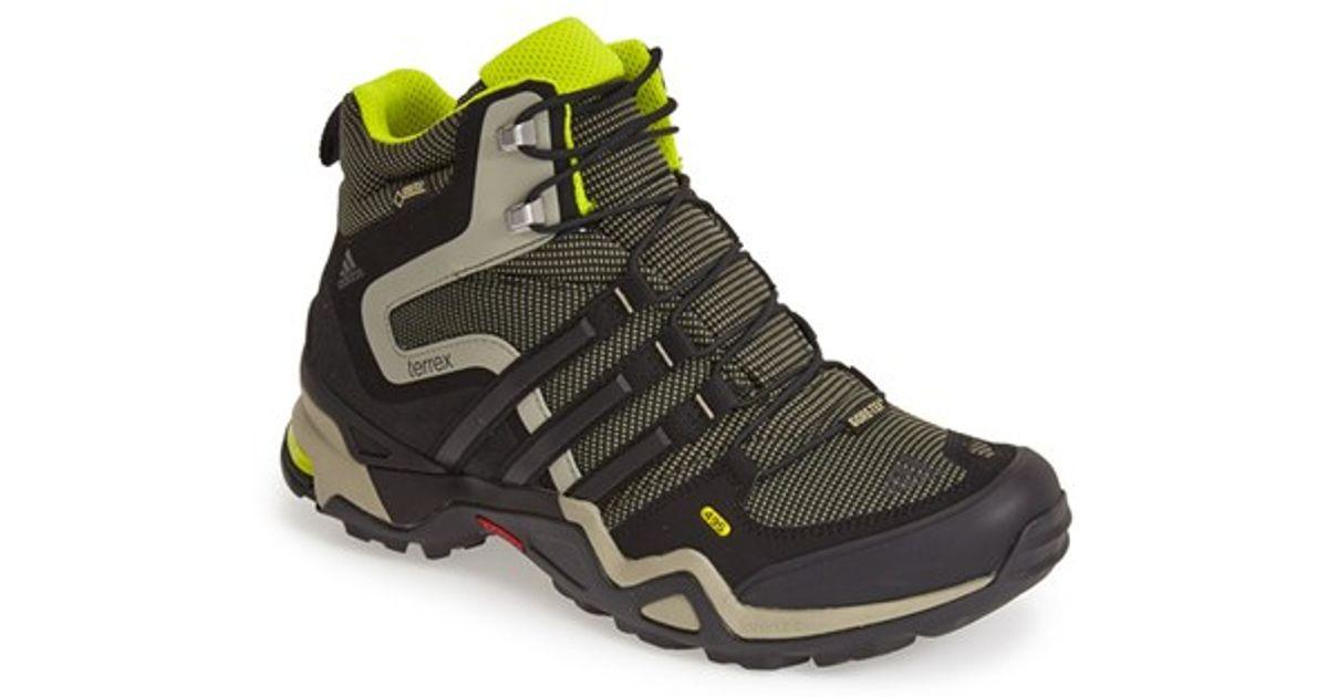 on sale e321a b281b Adidas Green 'terrex Fast X High Gtx' Hiking Boot for men