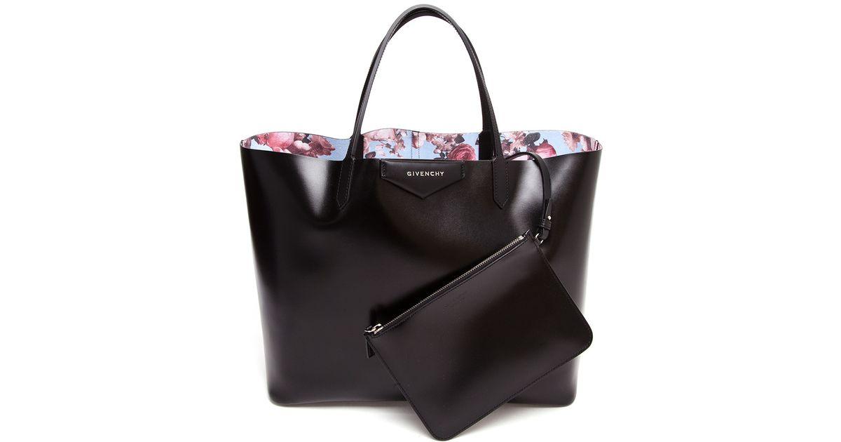 Givenchy Black Antigona Faux Leather Tote Bag