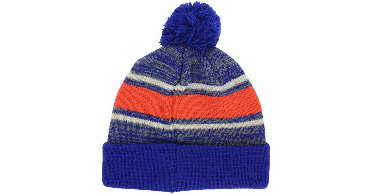 0c3e8dee93285 Lyst - 47 Brand Edmonton Oilers Fairfax Pom Knit Hat for Men