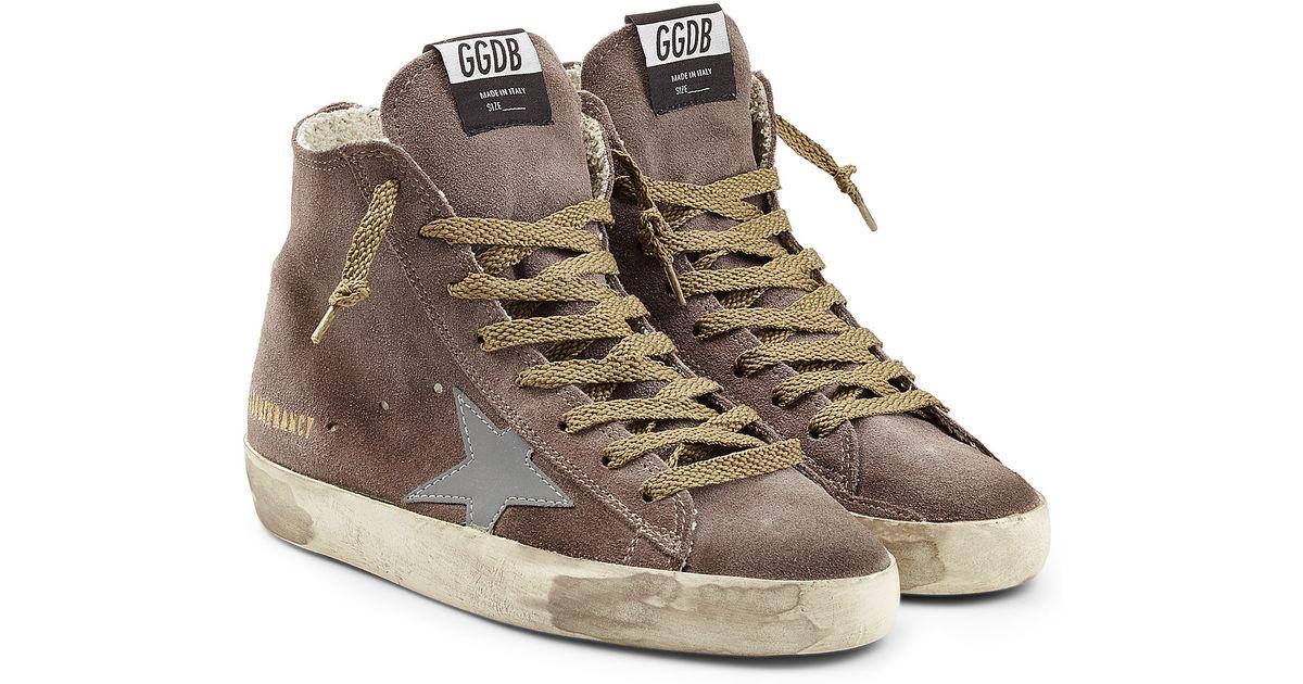 Golden Goose Suede Francy Sneakers in . B2J76