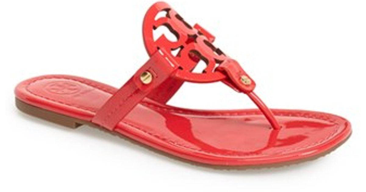 353de93d8a4 Lyst - Tory Burch  miller  Sandal in Red