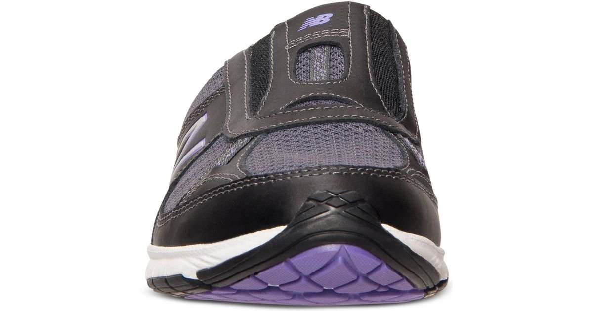 wholesale buy popular outlet store sale New Balance Black Women's 520 Everlight Slip-on Walking Sneakers From  Finish Line
