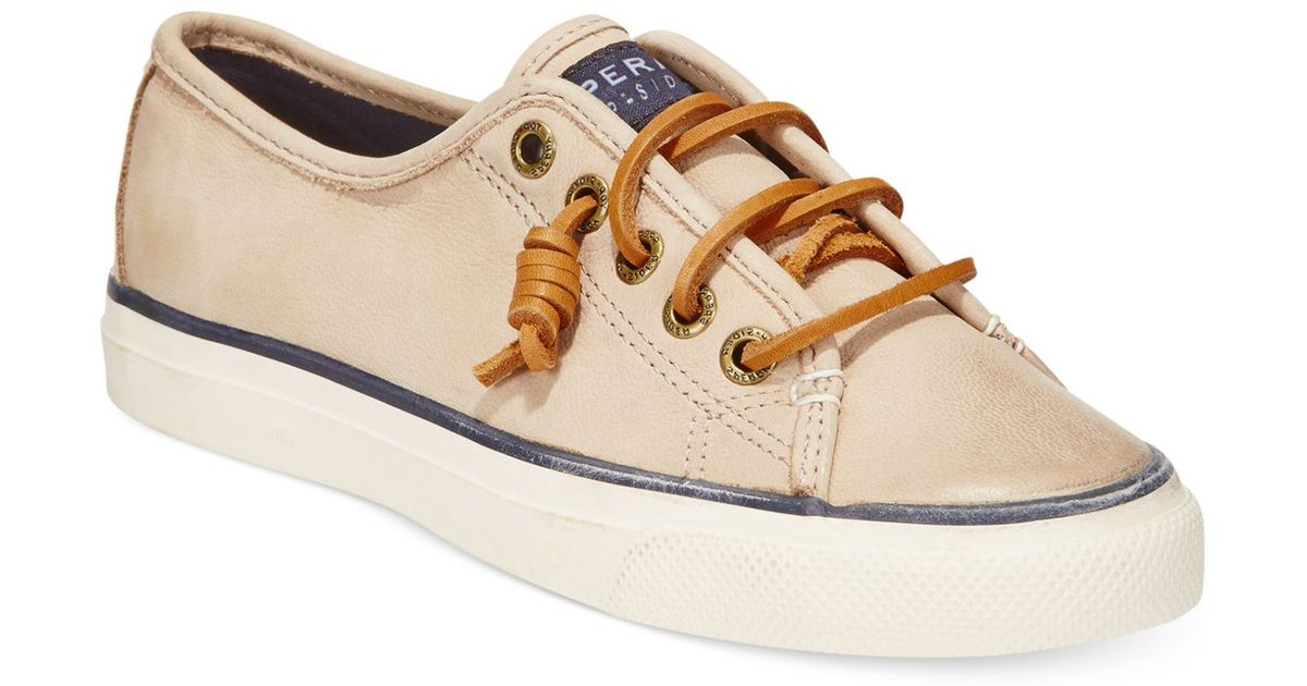 Seacoast Leather Sneakers
