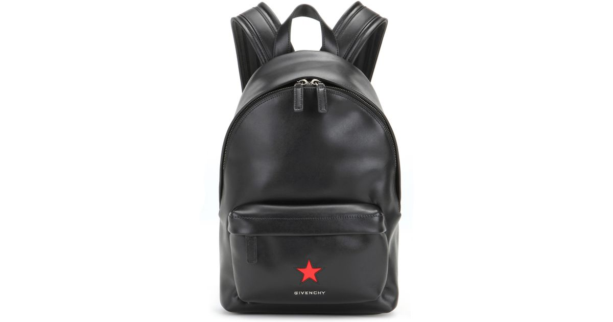 b8e1b937bf45 Givenchy Mini Leather Backpack In Black Lyst ...