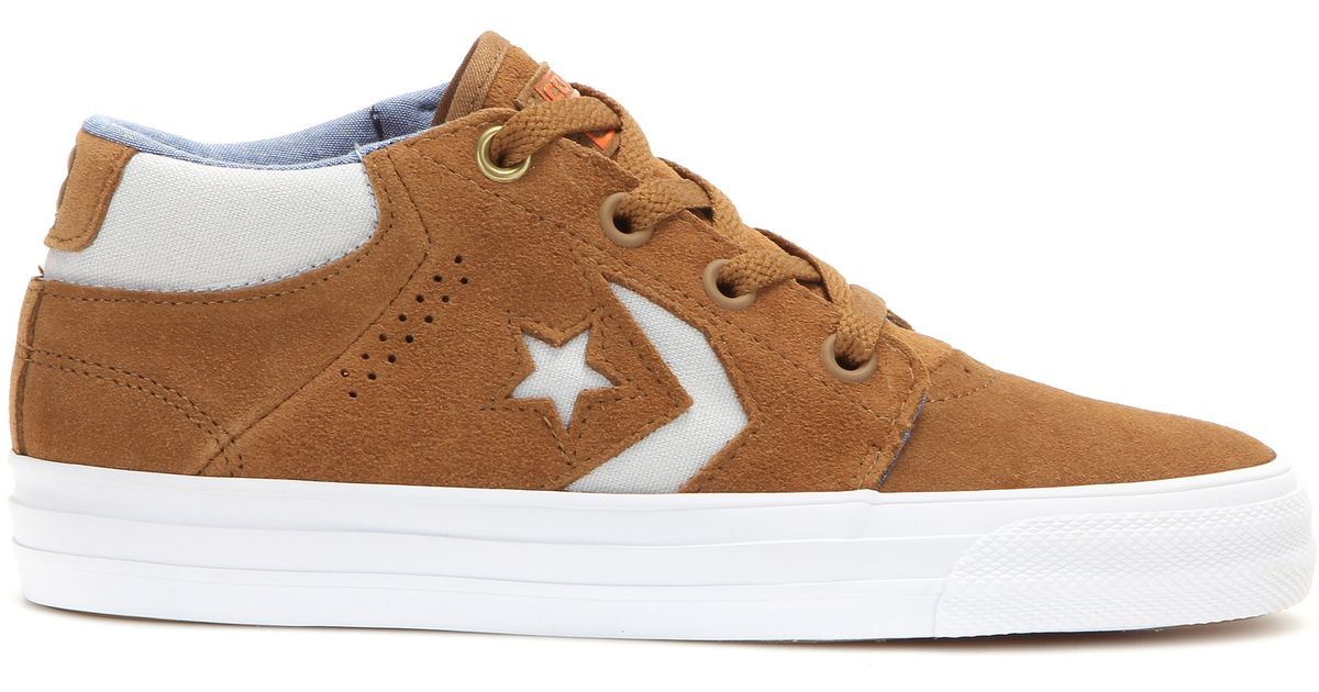 converse breakpoint ox suede sneakers
