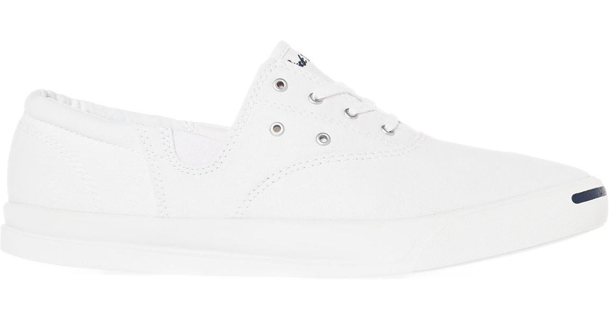 84431ce012bffe Lyst - Converse The Jack Purcell Jeffrey Cvo Sneaker in White for Men