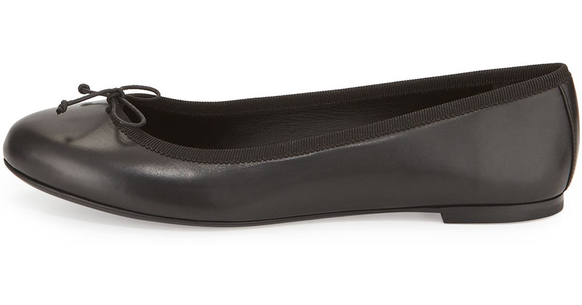 Saint LaurentLeather Flats YSUBq