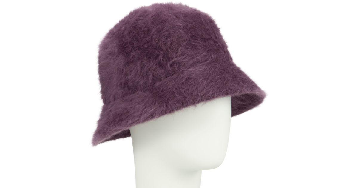 48876e22e008f John Lewis Angora Mix Cloche Hat in Purple - Lyst