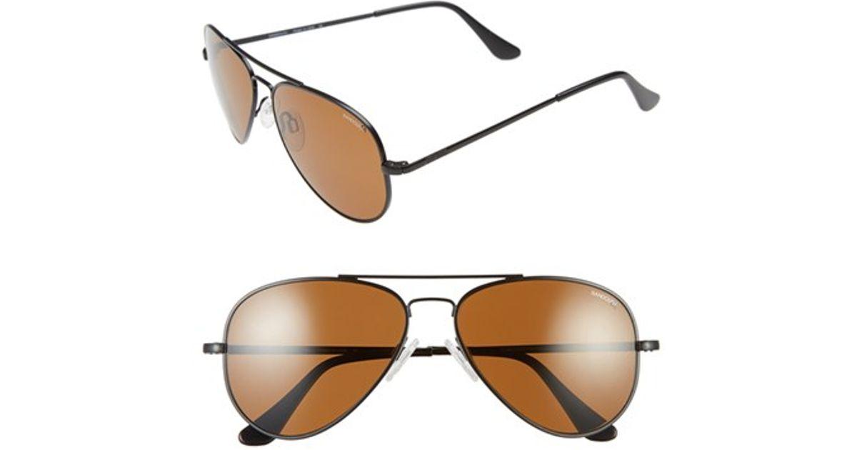 polarized aviator sunglasses bkpi  Randolph engineering 'concorde' 57mm Polarized Aviator Sunglasses in Black   Lyst
