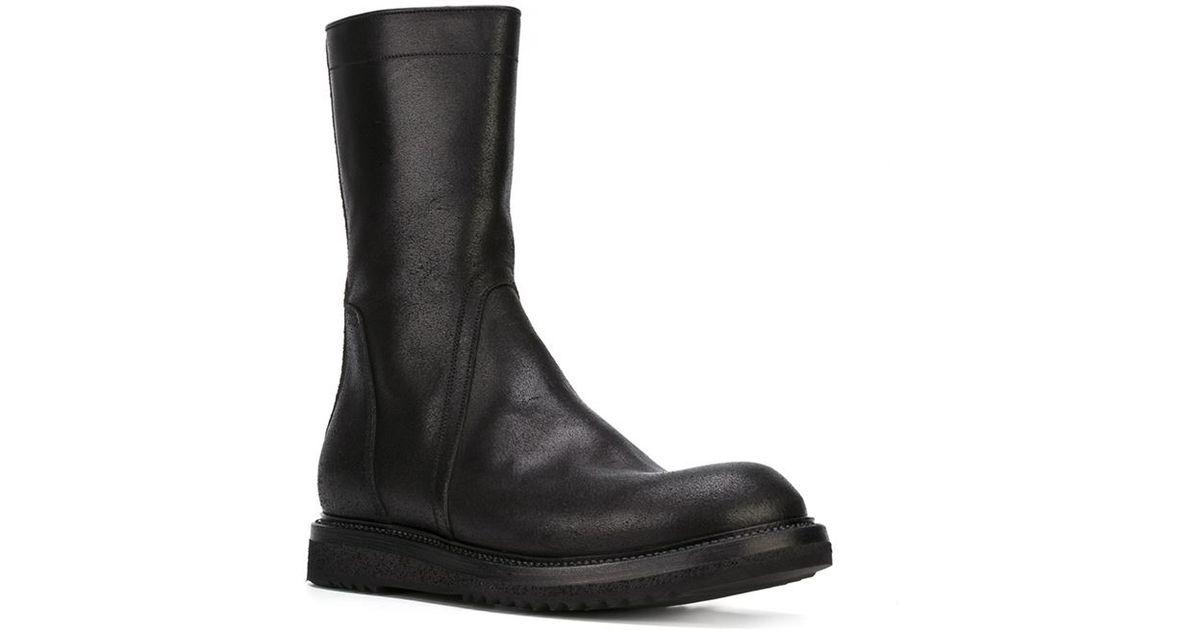 Rick Owens Creeper Chelsea Boots y2t9qb8MZ