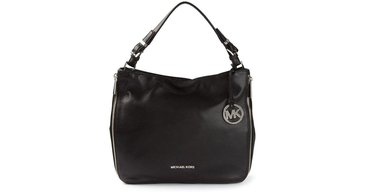 626632a5292c MICHAEL Michael Kors Large Essex Convertible Shoulder Bag in Black - Lyst