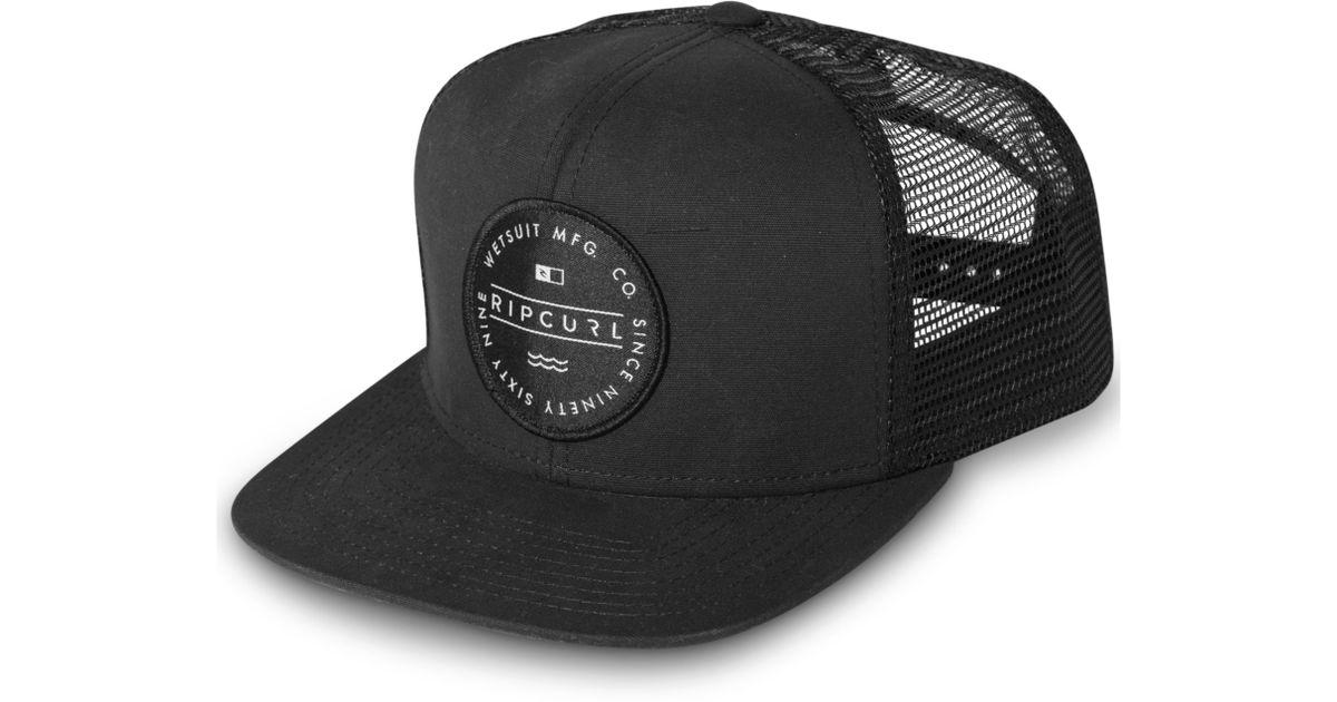 a44e1d261 Rip Curl Black Circle Bot Hat for men