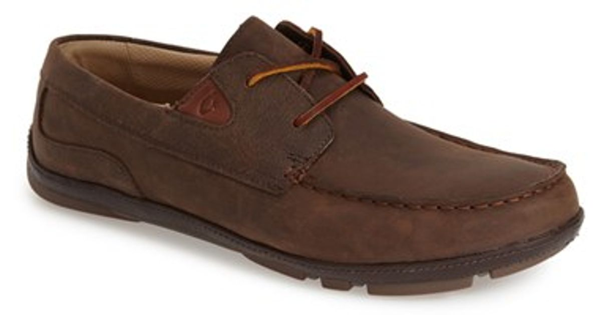 Olukai Mano Driving Shoe In Brown For Men Lyst