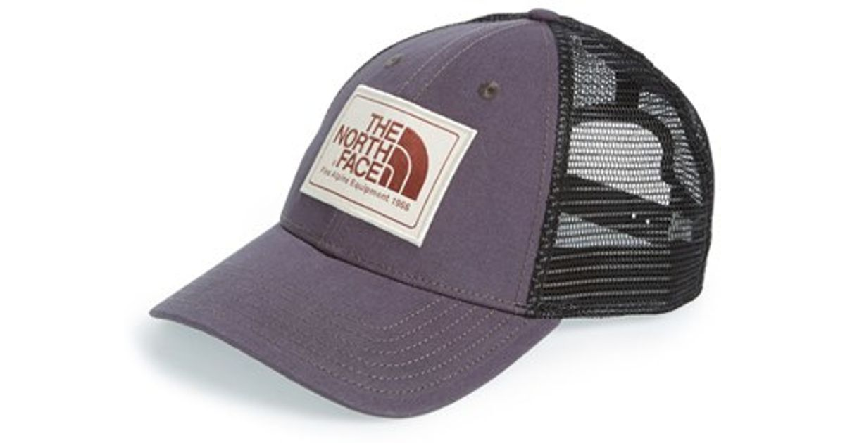 Lyst - The North Face  mudder  Trucker Hat in Black 4d7f61ccb23