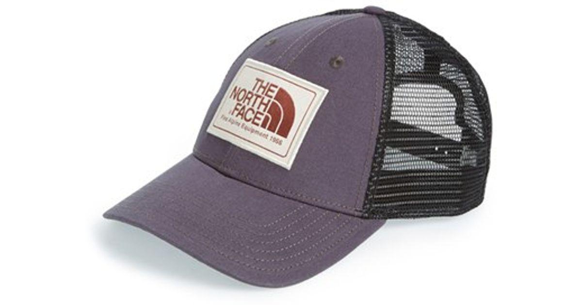 a9029147b The North Face Black 'mudder' Trucker Hat