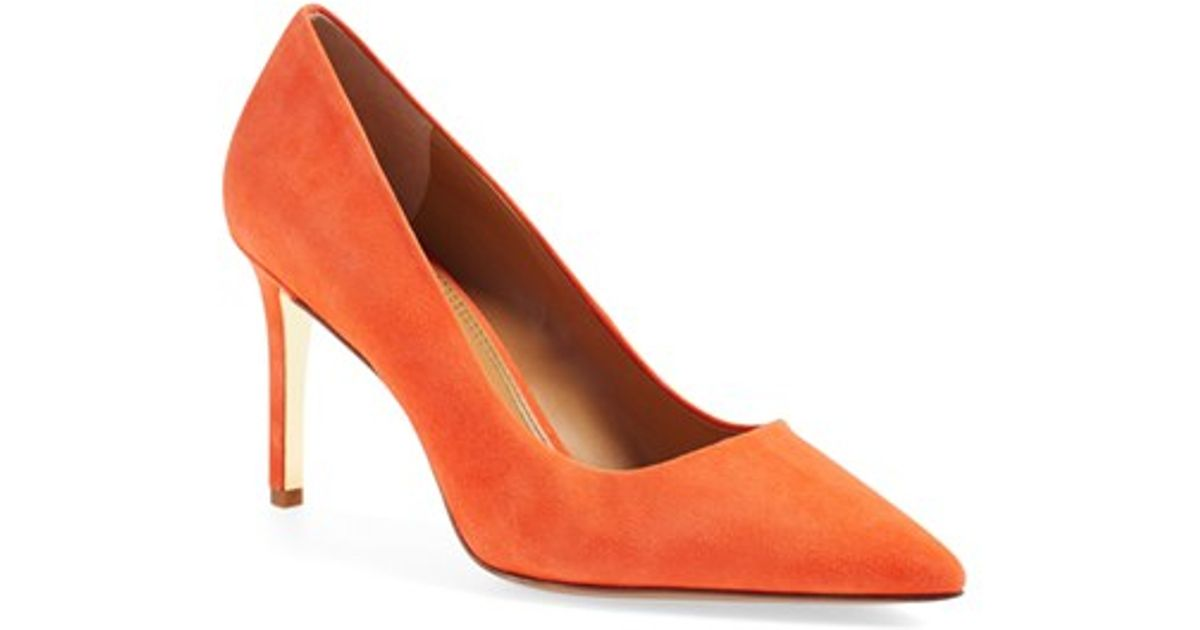 Isabel Marant Red Poppy Shoes