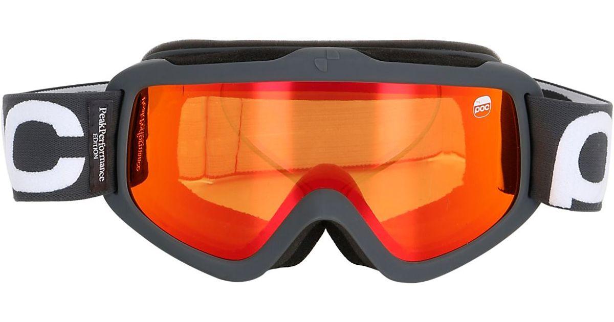 orange ski goggles  orange ski goggles