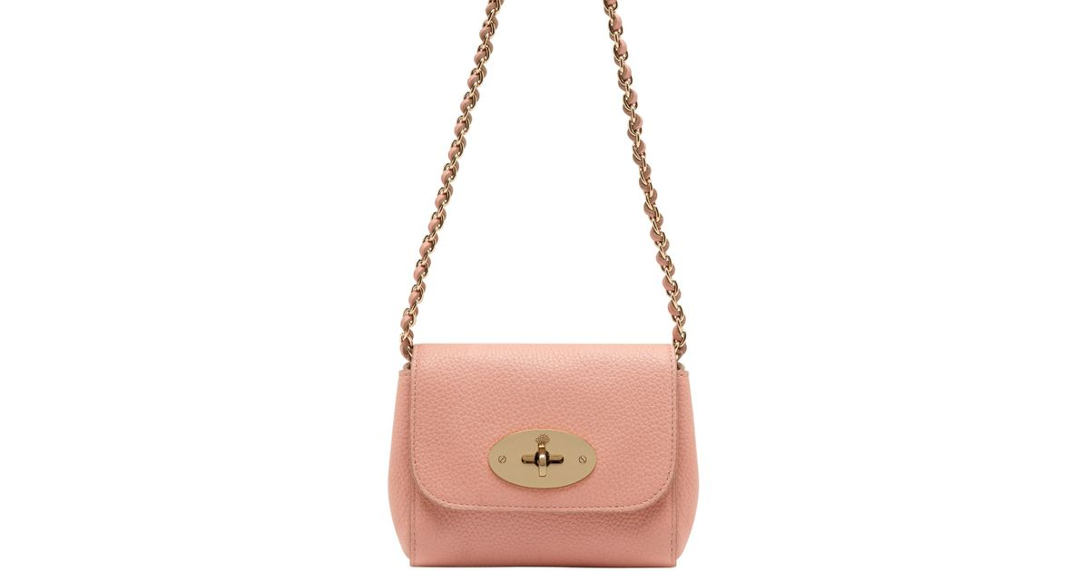 bcef2a47a5 Lyst - Mulberry Mini Lily Shoulder Bag in Brown