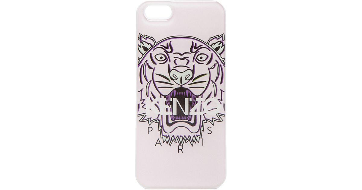 official photos 02a10 d4679 KENZO Pink Iphone 5 5s Tiger Case