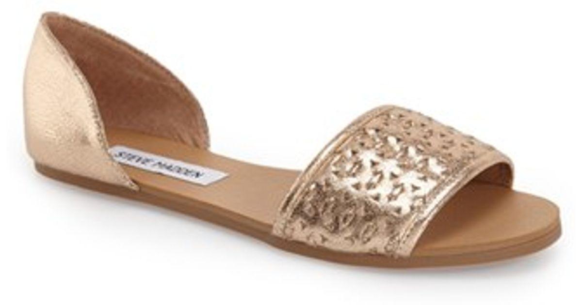 a8b184d1e34 Steve Madden Metallic Taylerr D'Orsay Sandals