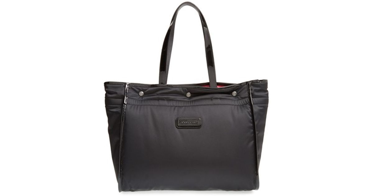 783542e4087 Longchamp 'large Tweedy Plume' Tote in Black - Lyst