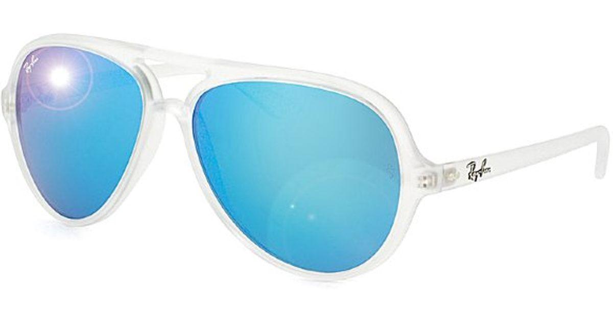 ray ban glass or plastic lenses