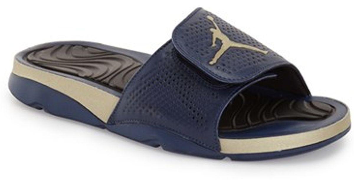 7ea1a1e5dc6cd Lyst - Nike  jordan Hydro 5  Sandal in Blue