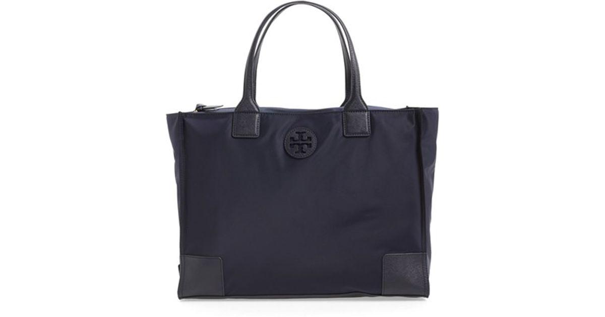a3700ae04aec6 Lyst - Tory Burch  ella  Packable Nylon Tote in Blue