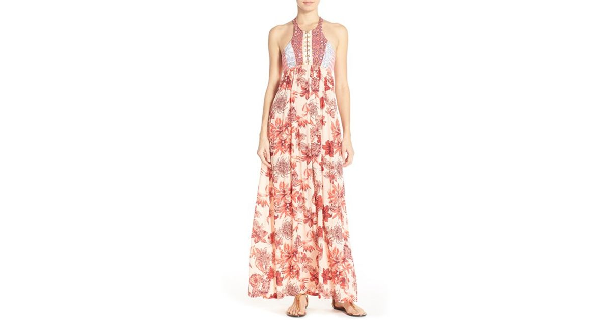 b6c53feebdc9c Lyst - Maaji  forever Red  Cover-up Maxi Dress