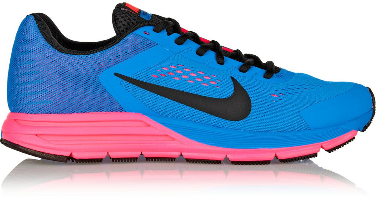 ac75d28d21e9f Lyst - Nike Zoom Structure 17 Mesh Sneakers in Blue