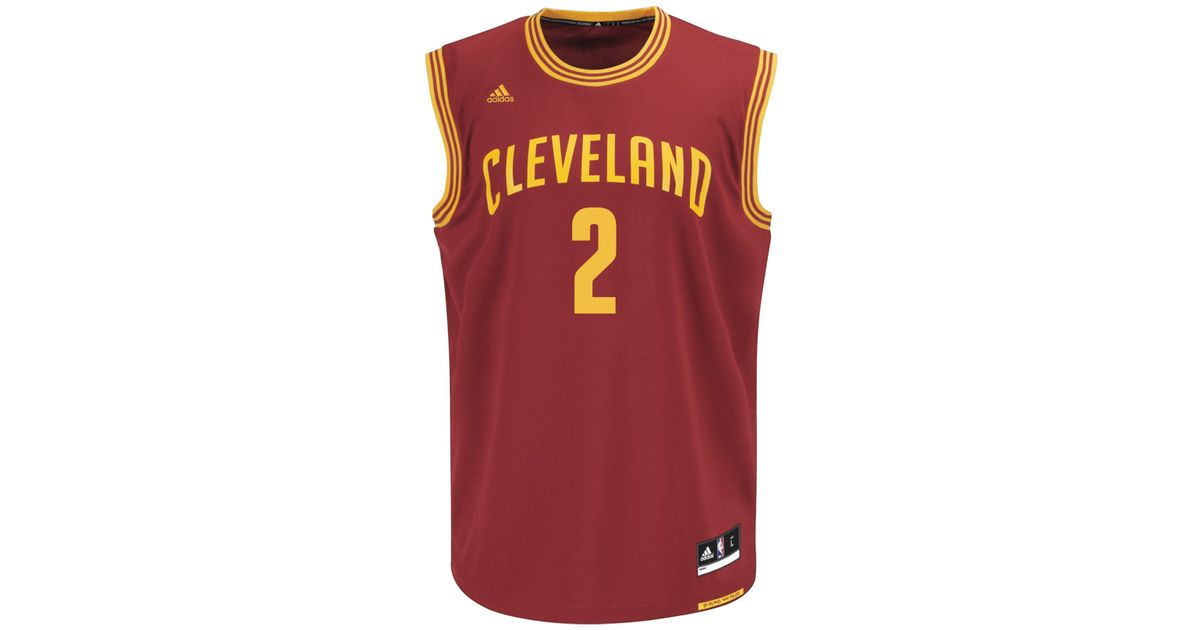 low priced 4b696 7d5bf Adidas Originals - Purple Men's Kyrie Irving Cleveland Cavaliers Rev 30  Replica Jersey for Men - Lyst